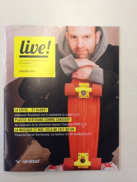 Randstad live cover
