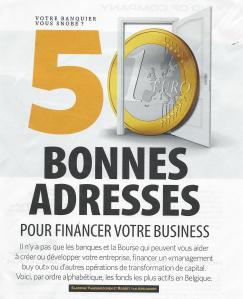 50 bonnes adresses pour financer votre business